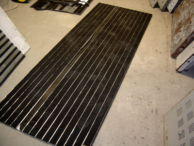 tapis de sol norme passage handicapée alu inox romus