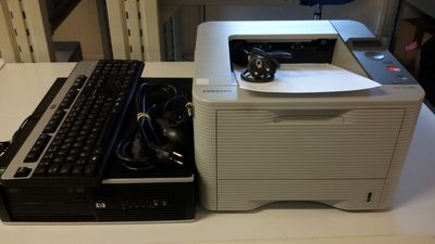 Image du produit: PC HP Compaq 6005 pro  avec imprimante