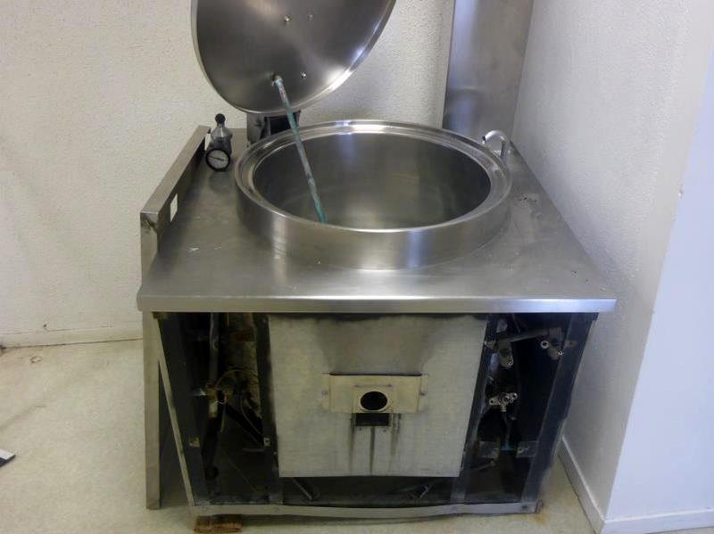 Marmite Sauteuse Restauration Inox Metal Self Cuisine Equipement