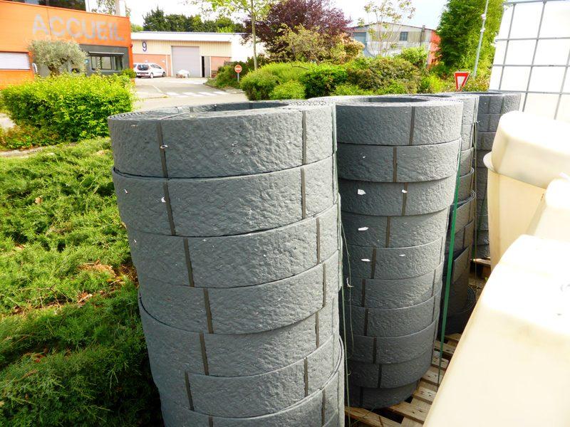 LOT DE 2 BORDURES PLASTIQUES - Décoration de jardin d ...