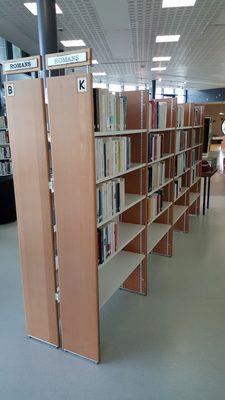 Image du produit: Bibliotheque, etagères recto-verso (B K)