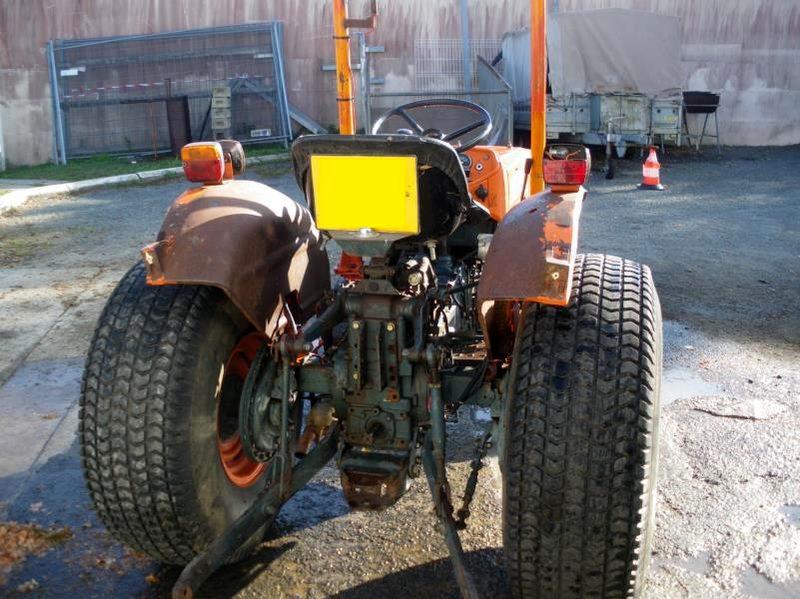 tracteur espaces verts kubota