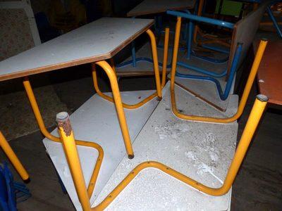 lot de 6 tables trap zo dales pour enfant mobilier scolaire d 39 occasion aux ench res agorastore. Black Bedroom Furniture Sets. Home Design Ideas