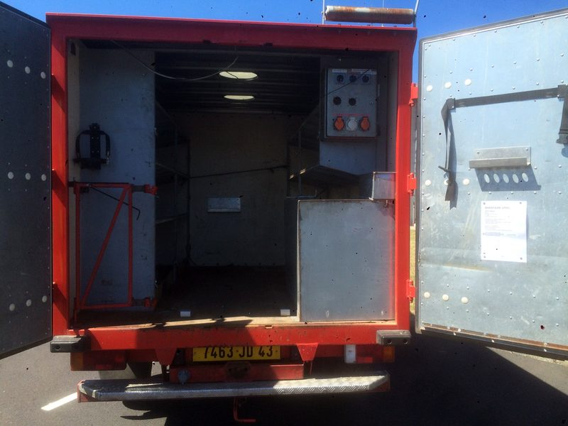 camion iveco daily 4x4 double cabine