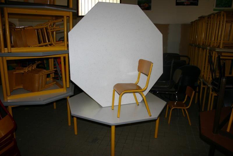 lot tables et chaises de maternelle mobilier scolaire d 39 occasion aux ench res agorastore. Black Bedroom Furniture Sets. Home Design Ideas