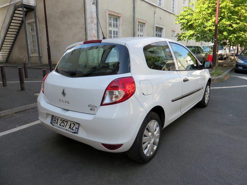 Renault Clio 3 Societe Bx 257 Az 2 Places Voiture D Occasion Aux