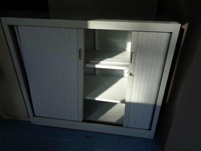 Image du produit: Armoire basse à rideaux