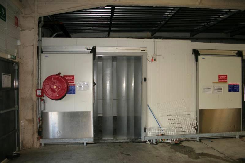 Chambre froide de 19 m tres lin aires x 5 sur central - Chambre froide d occasion belgique ...