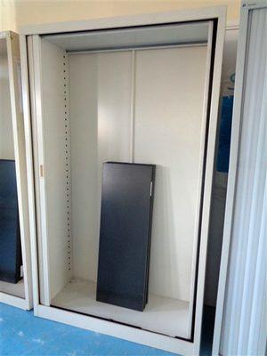 Image du produit: Armoire haute à rideaux