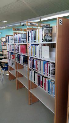 Image du produit: Bibliotheque, etagères recto-verso (R)