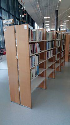 Image du produit: Bibliotheque, etagères recto-verso (D F)