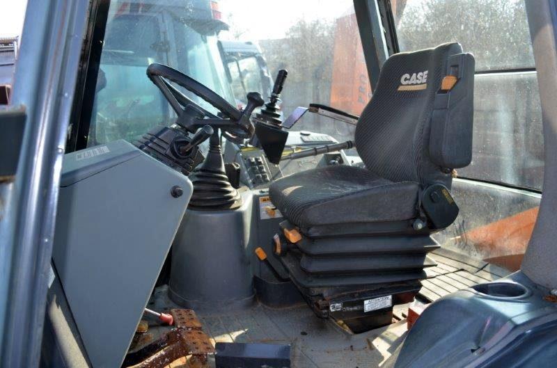 tracteur ccm case lxt 580 duo speed  chargeur  epareuse