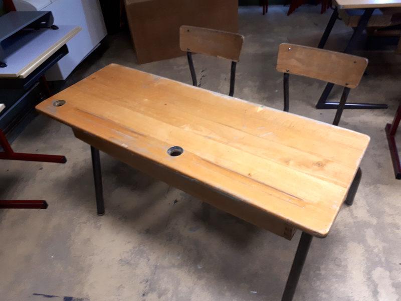 Bureau d ecolier plateau inclinable réglable en hauteur meubles