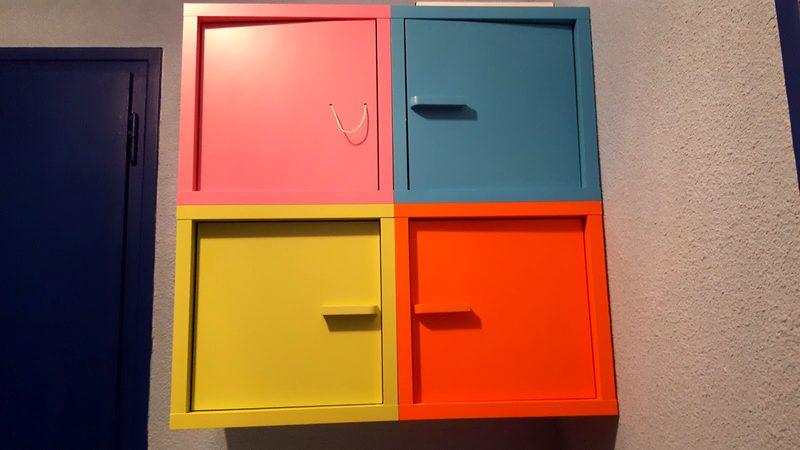 Meuble De Rangement Ikea X4 Casiers Mobilier Scolaire D Occasion Aux Encheres Agorastore
