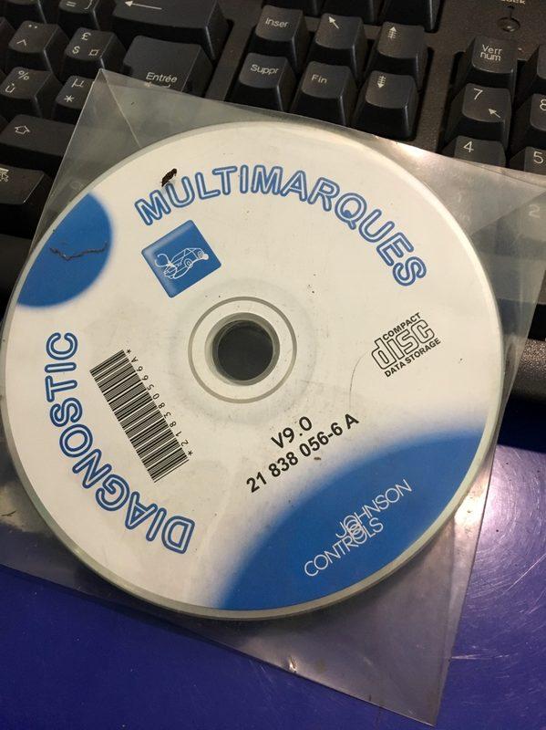 banc de diagnostic eurobox  cd pieces